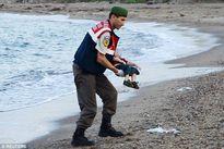 Bức ảnh xác bé trai nhập cư Syria trôi vào bờ biển gây sốc cả châu Âu