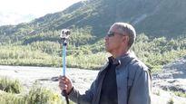 """Tổng thống Obama tạo """"bão"""" Instagram với gậy tự sướng"""