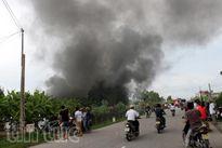Cháy lớn tại Tứ Kỳ - Hải Dương