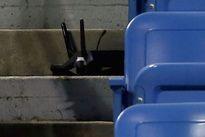 Drone mất lái, rơi xuống khán đài sân tennis giải Mỹ mở rộng