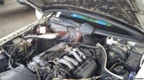 Người nhập cư trốn trong khoang máy Mercedes-Benz 300