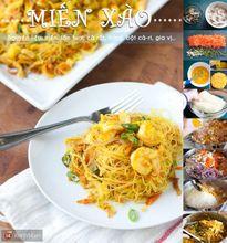 """""""Đổi gió"""" cuối tuần với menu miến xào kiểu Singapore"""