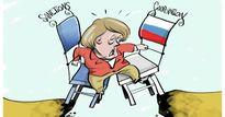 """Biếm họa tuần qua: Ý tưởng khác người của Mỹ và sự """"tham lam"""" của Đức"""