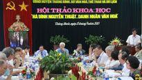 Hà Đình Nguyễn Thuật, danh nhân văn hóa
