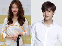Jeon Ji Hyun vác bụng bầu 4 tháng đi mua sắm