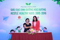 Phổ cập kiến thức dinh dưỡng học đường – Nestlé Healthy Kids