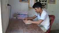 Cậu học trò nghèo giỏi Văn và ước mơ làm trinh sát