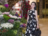 Linh Nga xinh đẹp rạng rỡ đi sự kiện