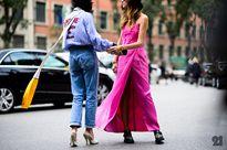 Học tập cách mix đồ hút mắt từ street style Milan Fashion Week