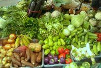 Giá rau xanh lại tăng sau mưa lớn