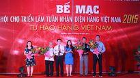 Nho Ninh Thuận được yêu thích nhất tại hội chợ Tuần nhận diện hàng Việt