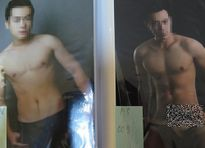Mỹ nam chụp ảnh sexy cho khách chọn ở động mại dâm Sài Gòn