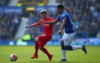 """Hòa Everton trong trận derby, HLV Liverpool vẫn """"nổ vang"""""""