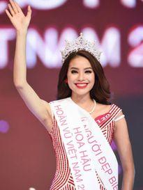 """Cuộc thi """"Hoa hậu Hoàn vũ Việt Nam 2015"""": Phạm Thị Hương vượt thị phi để trở thành Hoa hậu"""