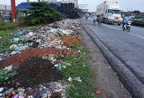 Xử lý dứt điểm tình trạng rác thải đổ hai bên đường QL5