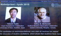 Nobel Vật Lý 2015 vinh danh người nghiên cứu hạt Neutrino