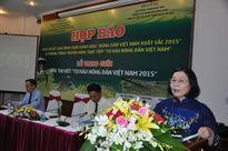 """Hôm nay họp báo Chương trình bình chọn """"Nông dân Việt Nam xuất sắc 2015"""""""