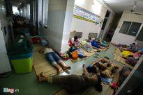Đêm 'màn trời chiếu đất' ở bệnh viện nhi Sài Gòn