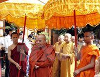 Đồng bào Khmer Nam Bộ nô nức đón lễ Sene Dolta truyền thống