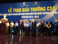 Gala trao giải thưởng CSC năm 2015