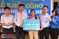 Đoàn khối Doanh nghiệp khởi công xây dựng nhà cho hộ nghèo