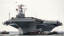 Mỹ rút tàu sân bay khỏi vùng Vịnh sau khi Nga phóng tên lửa hành trình