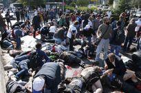 Xác nạn nhân la liệt tại hiện trường vụ nổ đẫm máu ở Thổ Nhĩ Kỳ