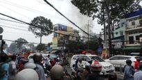 Hỏa hoạn thiêu rụi cửa hàng điện thoại, cả khu phố náo loạn