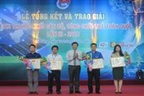 Bộ Tài chính giành giải Nhất Hội thi tin học khối cán bộ, công chức trẻ toàn quốc