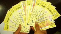 Bắt 8 cò bán vé trận Việt Nam - Thái Lan ở sân Mỹ Đình