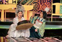 Lê Khánh - Thu Trang học theo thần bài TVB để diễn hài