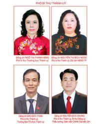 Tóm tắt tiểu sử 4 đồng chí Phó Bí thư Thành ủy Hà Nội