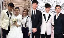 Dàn sao TVB nô nức dự đám cưới Cổ Cự Cơ