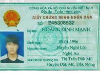 Tìm người thân khẩn cấp cho thanh niên quê ở Đắk Nông vừa gặp tai nạn