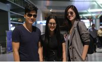 Diễn viên Huỳnh Tiên háo hức đi dự sinh nhật đài TVB
