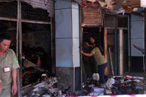 Cháy chợ Hòa Hưng, nhiều sạp hàng bị thiêu rụi