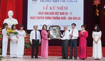 Trường THPT Chu Văn An: Long trọng kỷ niệm Ngày Nhà giáo Việt Nam