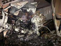 Xe gường nằm đấu đầu xe tải, tài xế tử vong trên ca bin