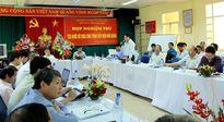 Thứ trưởng Lê Quang Hùng kiểm tra tiến độ công trình thủy điện Huội Quảng