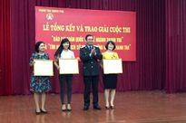 Trao giải thưởng 2 cuộc thi về ngành Thanh tra