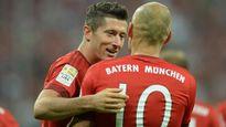 """Lewandowski và Robben đang """"bằng mặt không bằng lòng"""""""
