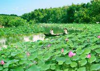 Láng Sen là khu Ramsa thứ 7 của Việt Nam