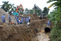 Ống nước sông Đà vỡ 14 lần vì vật liệu kém chất lượng