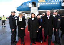 Chủ tịch nước Trương Tấn Sang thăm Frankfurt