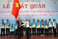 Thể thao NKT Việt Nam xuất quân tham dự Asean Para Games 2015