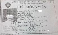 """Có phóng viên giả mạo trong vụ """"làm tiền"""" tại Trung tâm bảo trợ xã hội Ngọc Thoa"""
