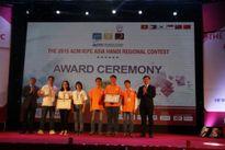 Sinh viên ĐH Quốc gia HN đạt Cúp vàng Tin học sinh viên lần thứ 24