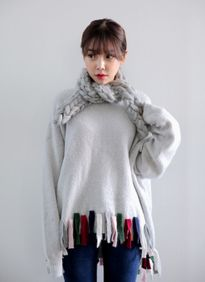 Những kiểu khăn quàng 'đinh' nhất mùa đông năm nay