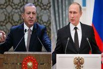Tổng thống Nga từ chối gặp Tổng thống Thổ Nhĩ Kỳ