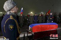 Nga xúc động đón phi công Su-24 trở về đất mẹ